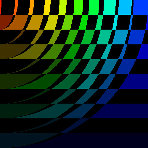 rainbow and black emo wallpaper - photo #26