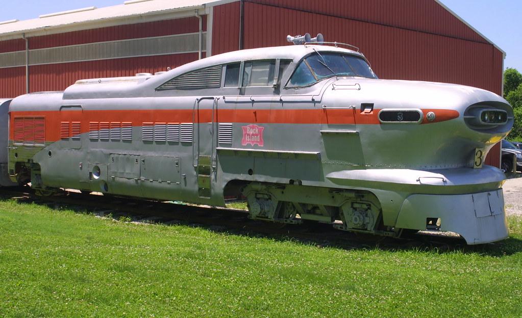 General motors aerotrain locomotive prototype 1956 side vi for General motors annual report 2010