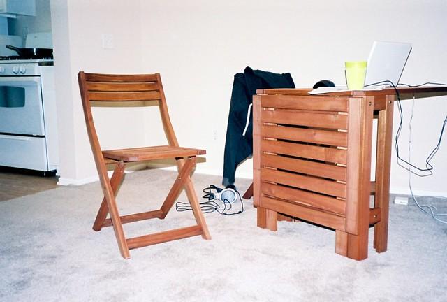California apartment patio furniture again until my for Apartment terrace furniture