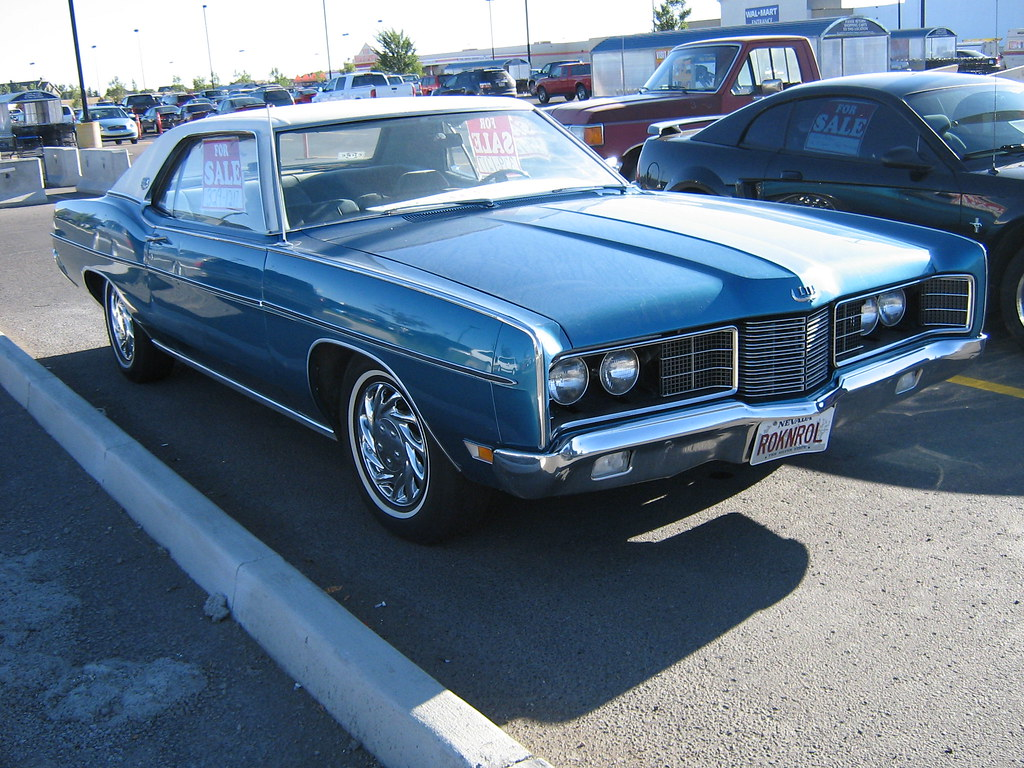 1970 Ford Ltd Brougham 1970 Ford Ltd Brougham Parked At
