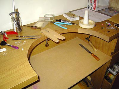 My new jewellery making desk | Thank you very much Emily ...