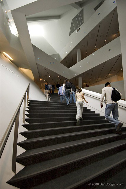 Nice ... Denver Art Museum   Interior Staircase #2947 | By Coogan Photo