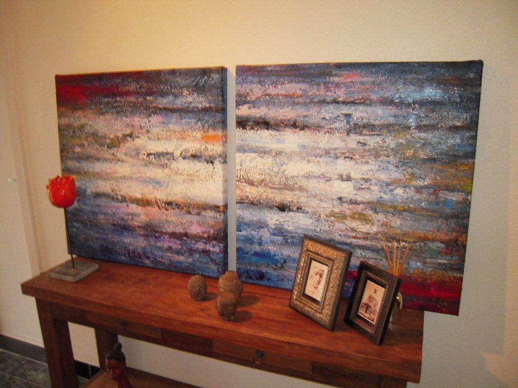 abstracte schilderijen te koop kopen www.fabelart.com | Flickr
