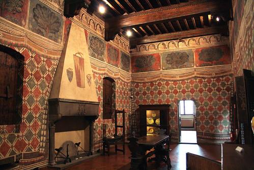 Interior Of The Medieval Palazzo Davanzati Florence