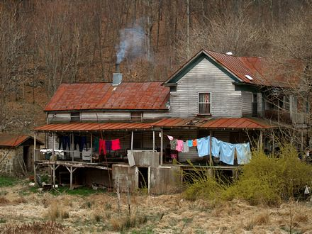 Old farmstead | This old farmstead at the base of the ...
