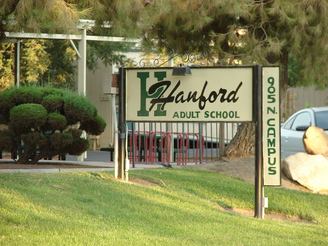 Are Adult hanford school with