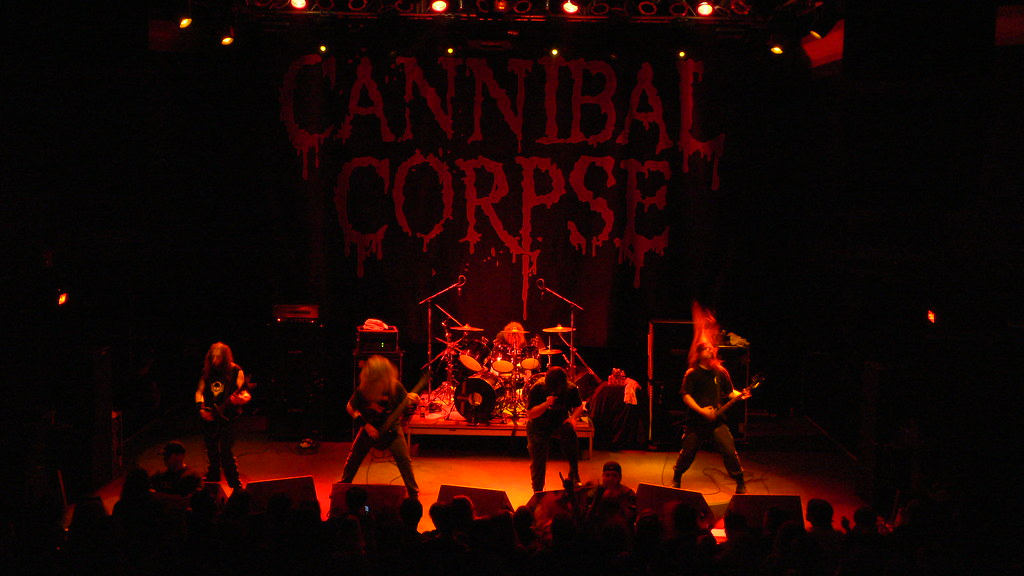 Cannibal Corpse at the 9:30 Club | Cannibal Corpse playing ...