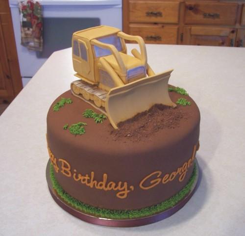 Bulldozer Chocolate Cake