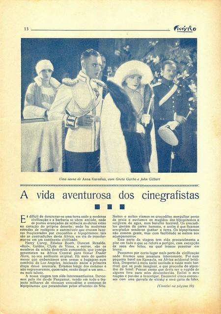 Cinéfilo, No. 73, January 11 1930 - 12