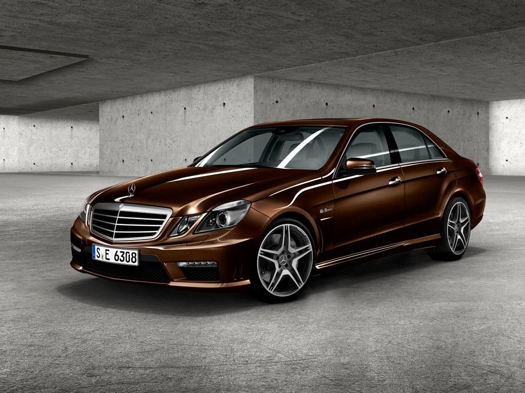 E63 Amg W212 052 Designo Mystic Brown Mercedes Benz