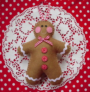 Gingerbread man | by Sew Sweet