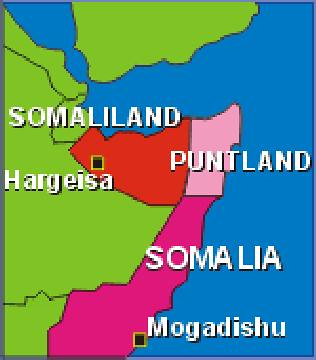 The autonomous region of Puntland in northeastern Somalia had been bombed by US warships. Kenyan air forces struck the breakaway region on January 20, 2007. | by Pan-African News Wire File Photos