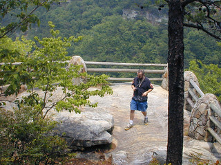 "me at ""the point,"" Cloudland Canyon 