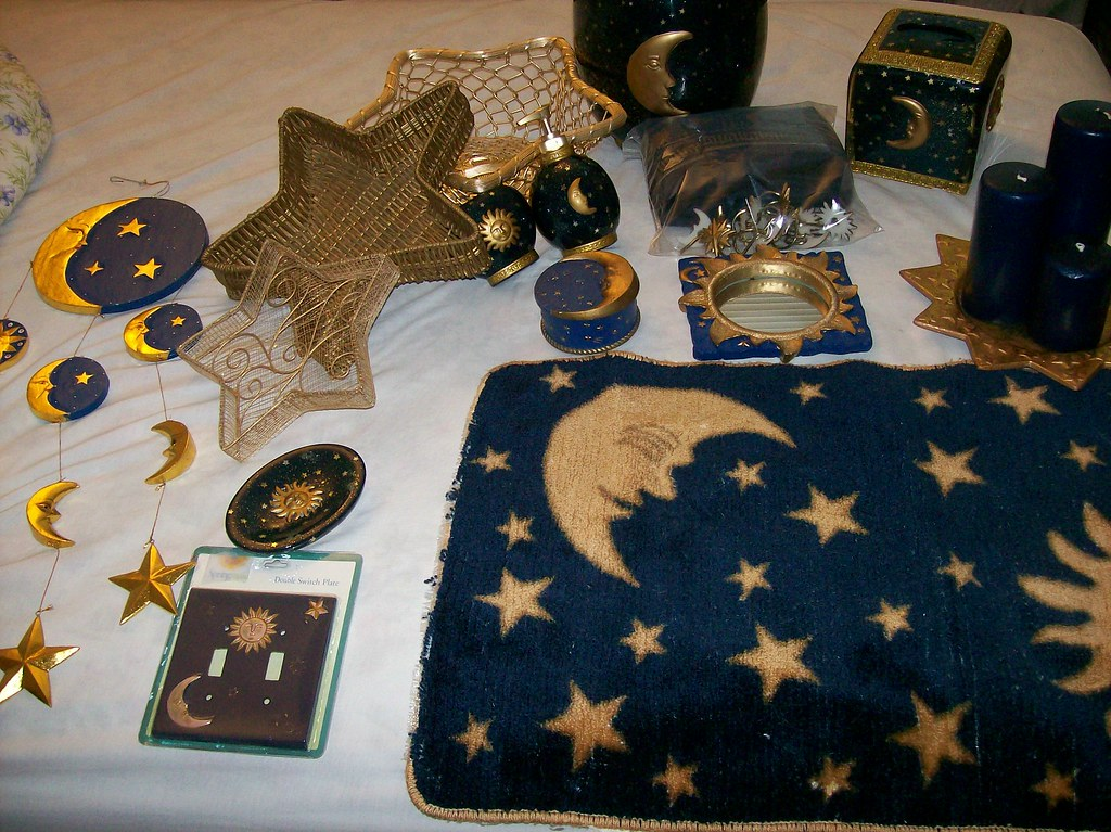 Sun Moon Stars Bathroom Set 100 00 This Complete Set
