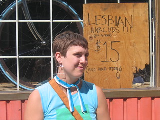 Lesbian Haircut (for anyone) | by killerfemme