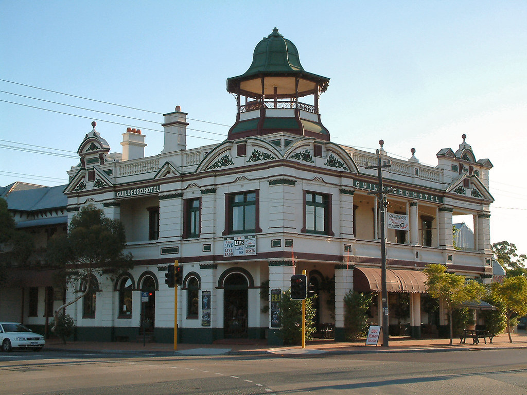 Guildford Hotel A Nice Suburb Of Perth With Great Walks