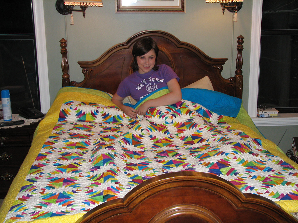 Quilt This Is A Pineapple Quilt Which Is A Variation Of