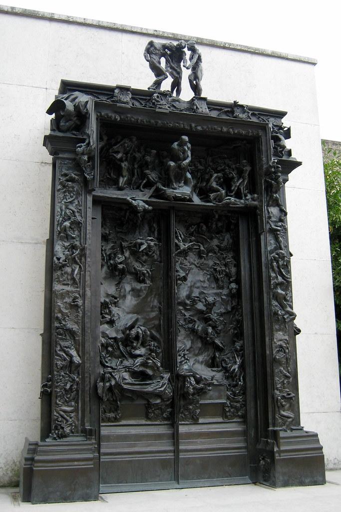 Paris mus e rodin la porte de l 39 enfer la porte de l 39 enf flickr - La porte de l enfer rodin ...