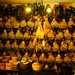 the wall of prosciutto in Norcia