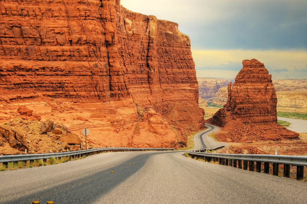 Utah State Route 95 Large view State Route 95 or Bicent Flickr