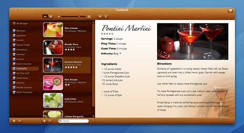 Cookbook Cocktail Theme | by mydreamapp