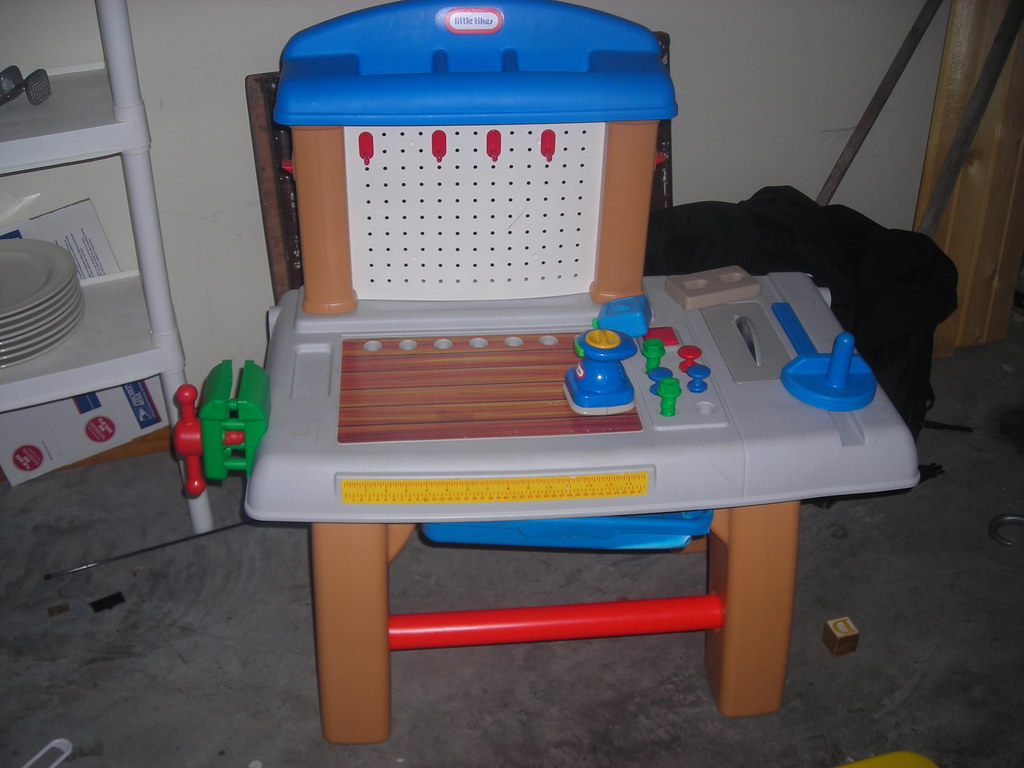 little tikes workbench with tools 18 cristynleeb flickr