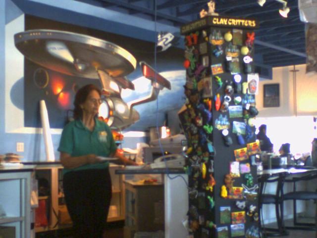Space Age Cafe Menu