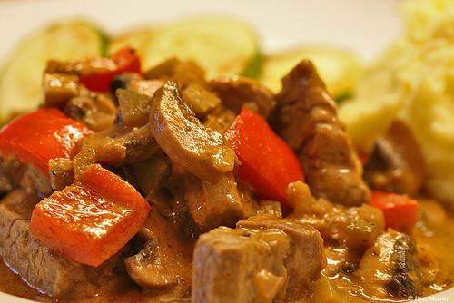 Filet Gulasch Stroganoff | Beef filet with Paprikasauce ( Re ...