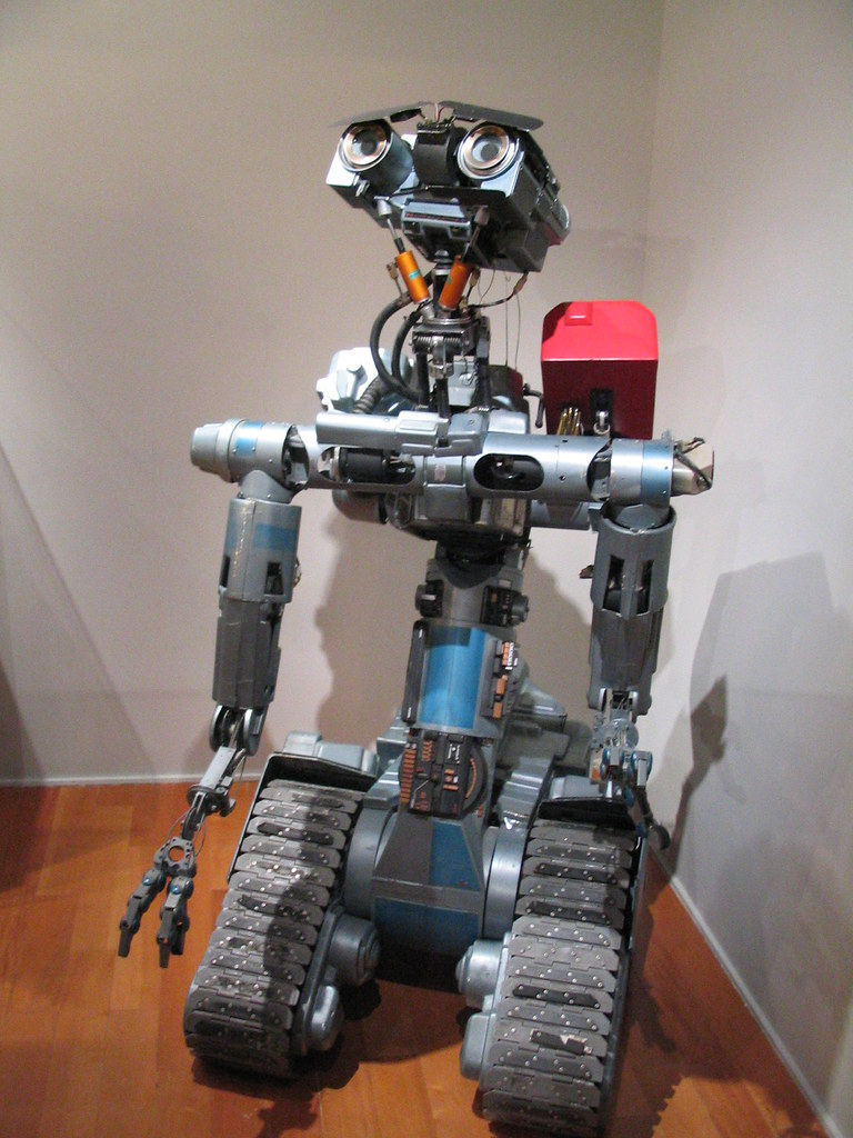Short Circuit Robots Robot Movie Wiring And Diagram Hub Johnny 5 Nick Flickr Toy Name