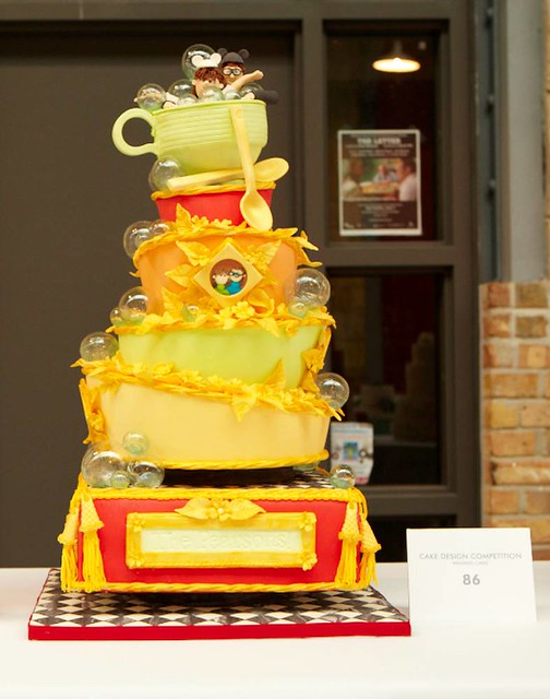 Cake Design Competition Show : Cake Design Competition: Wedding Cakes winner, Susan Smyth ...