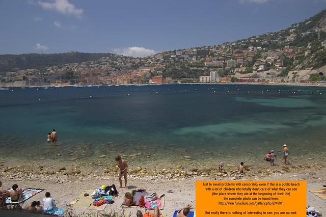 Villefranche sur Mer - the beach | Flickr - Photo Sharing!