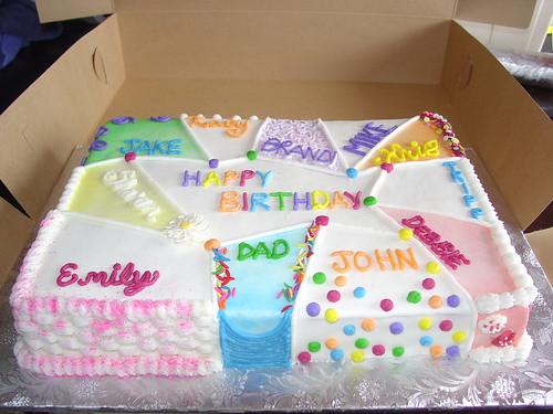 Longos Birthday Cakes