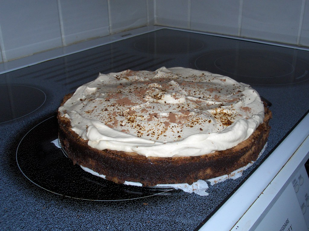 Chocolate Kahlua Cake Glaze
