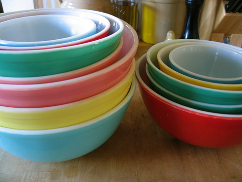 Pyrex Bowls | by becktress