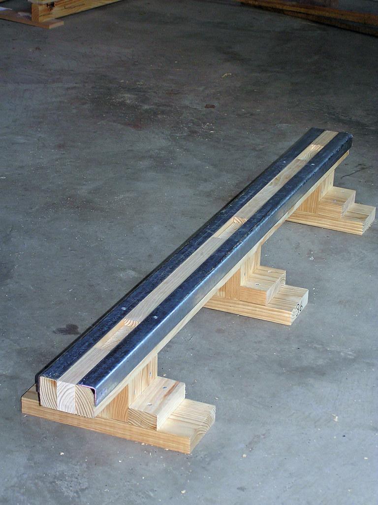 grind rail for skateboard our latest diy project flickr. Black Bedroom Furniture Sets. Home Design Ideas