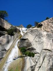2ème cascade de 40m de la Purcaraccia