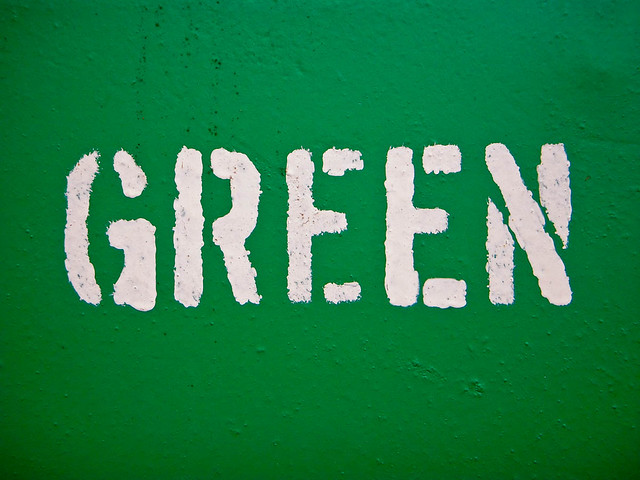 written in green by simspims
