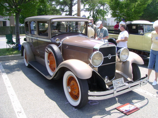 1928 Studebaker President Maryland Motor Vehicle