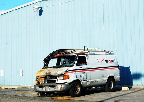 Verizon Van, Gowanus | by JGNY