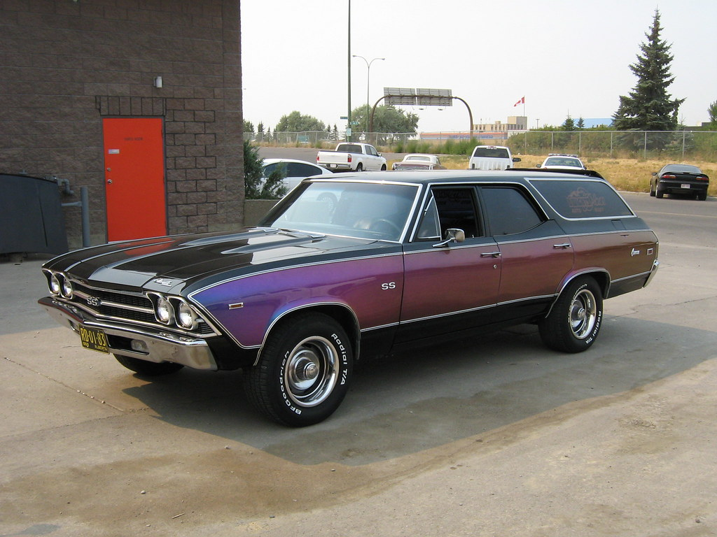1969 Chevrolet Chevelle Ss Wagon Not Sure If There Every