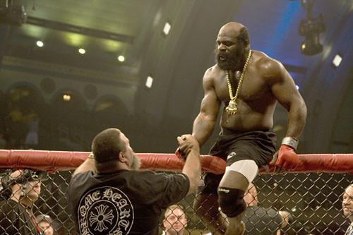 Kimbo Slice Shakes Hands With David Tank Abbott Kimbo