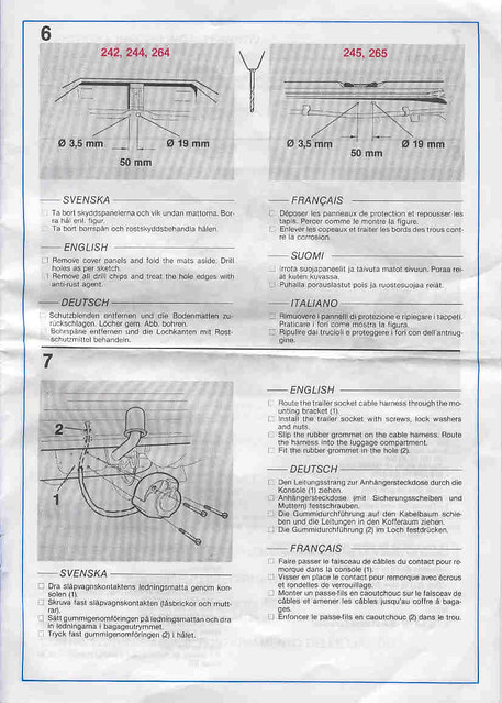 volvo 240 trailer hitch wiring instructions page 4 flickr Volvo XC90 Tow Package volvo 240 trailer hitch wiring instructions page 4 by z5