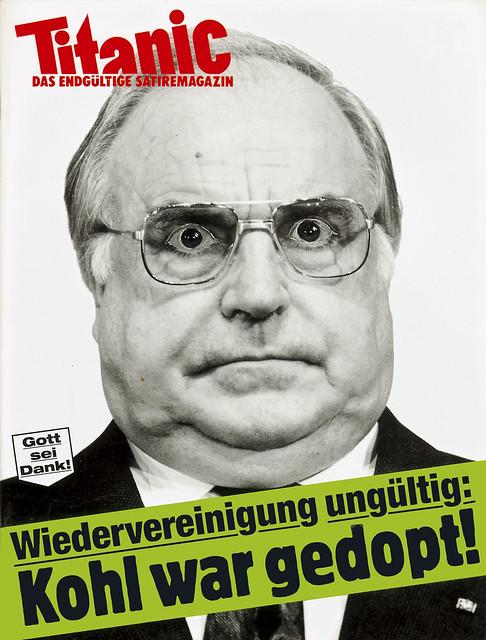 Photo Wiedervereinigung ungültig Kohl war gedoppt