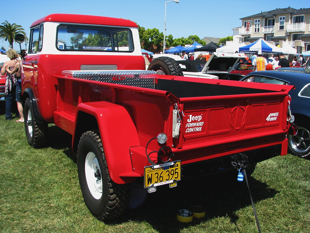 1960 Willys Jeep Fc 170 C O E Truck W 36 395 3 I