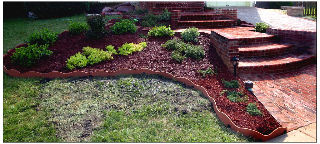 Image result for landscape with mulch