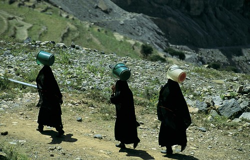 Women travel hours every day for water | by World Bank Photo Collection