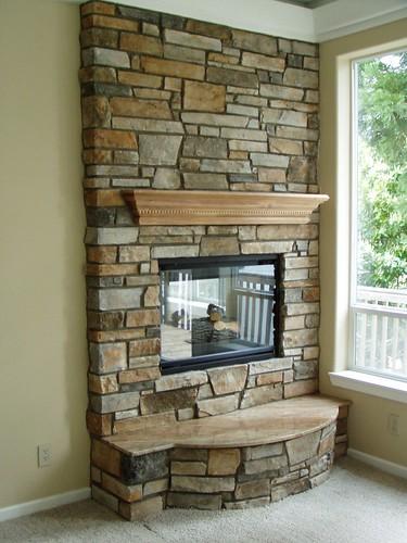 Stone Veneer Fireplace Face (Baker Masonry LLC 503 539 ...