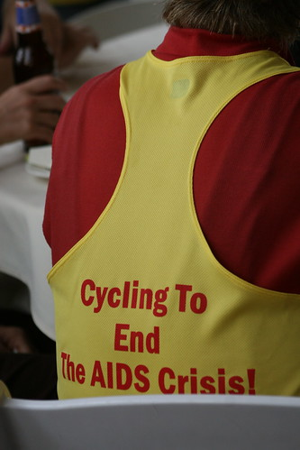 CT AIDS Bike Tour pinny | by WNPR - Connecticut Public Radio