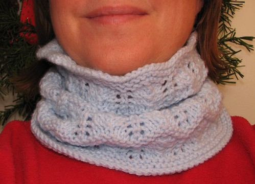 5/365 Knitted Cowl | by pedalpower