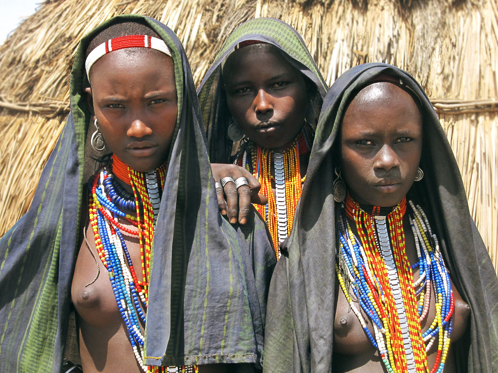 young girls naked african tribe